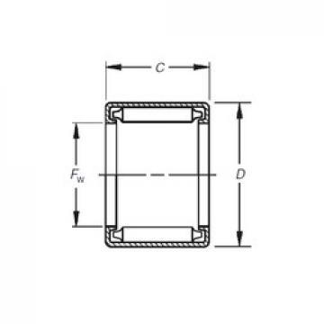 Timken B-186 Rolamentos de agulha